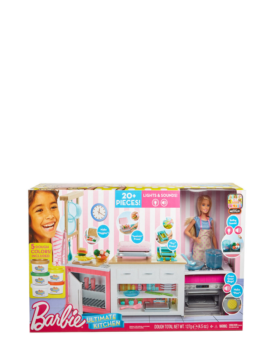 Ultimate Kitchen Playset With Barbie Chef Doll Central Online