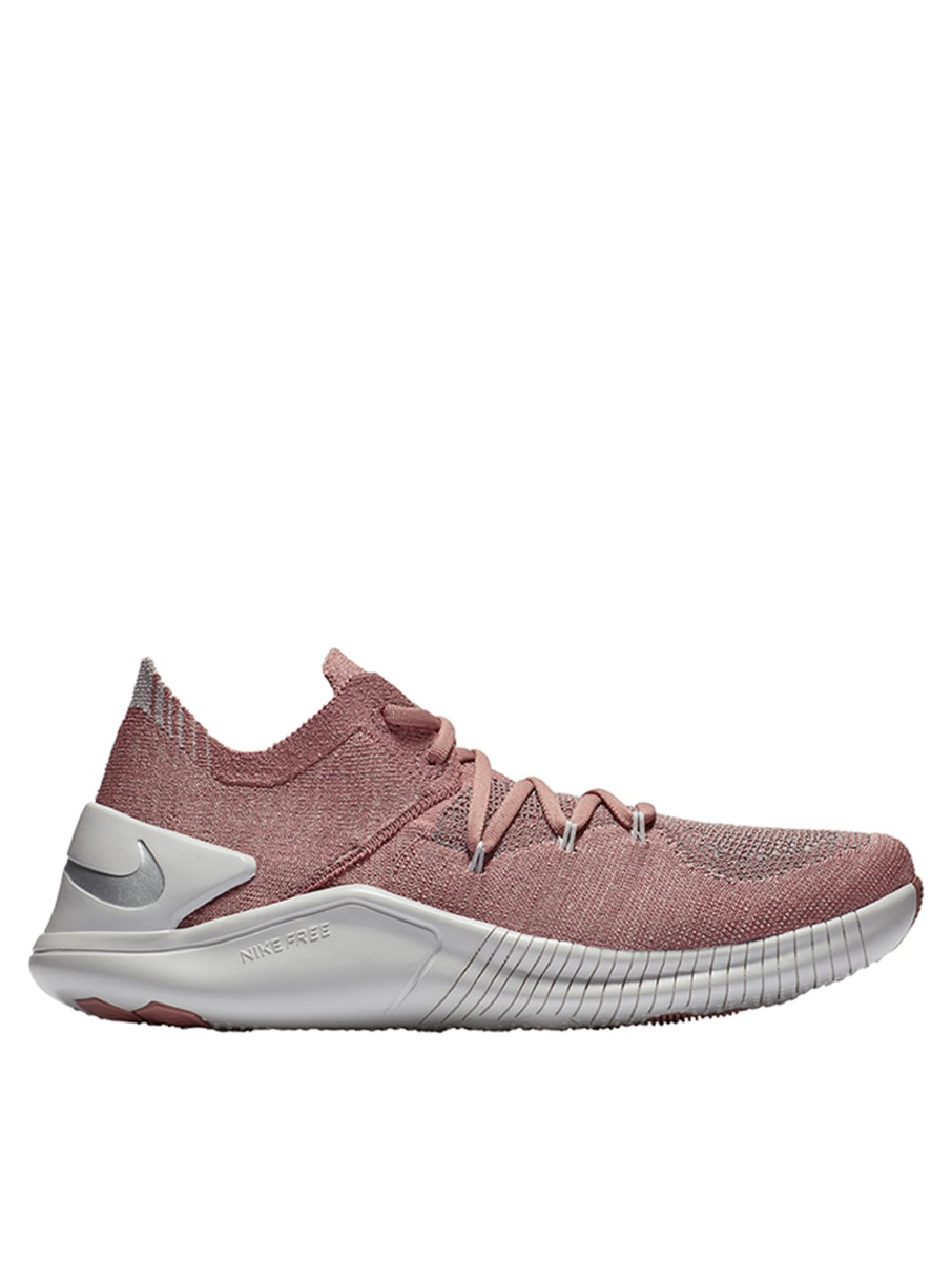 30f9b12dee386 NIKE Women s Training Shoes Free TR Flyknit 3 Smokey Mauve-Metallic  Silver-Vast Grey