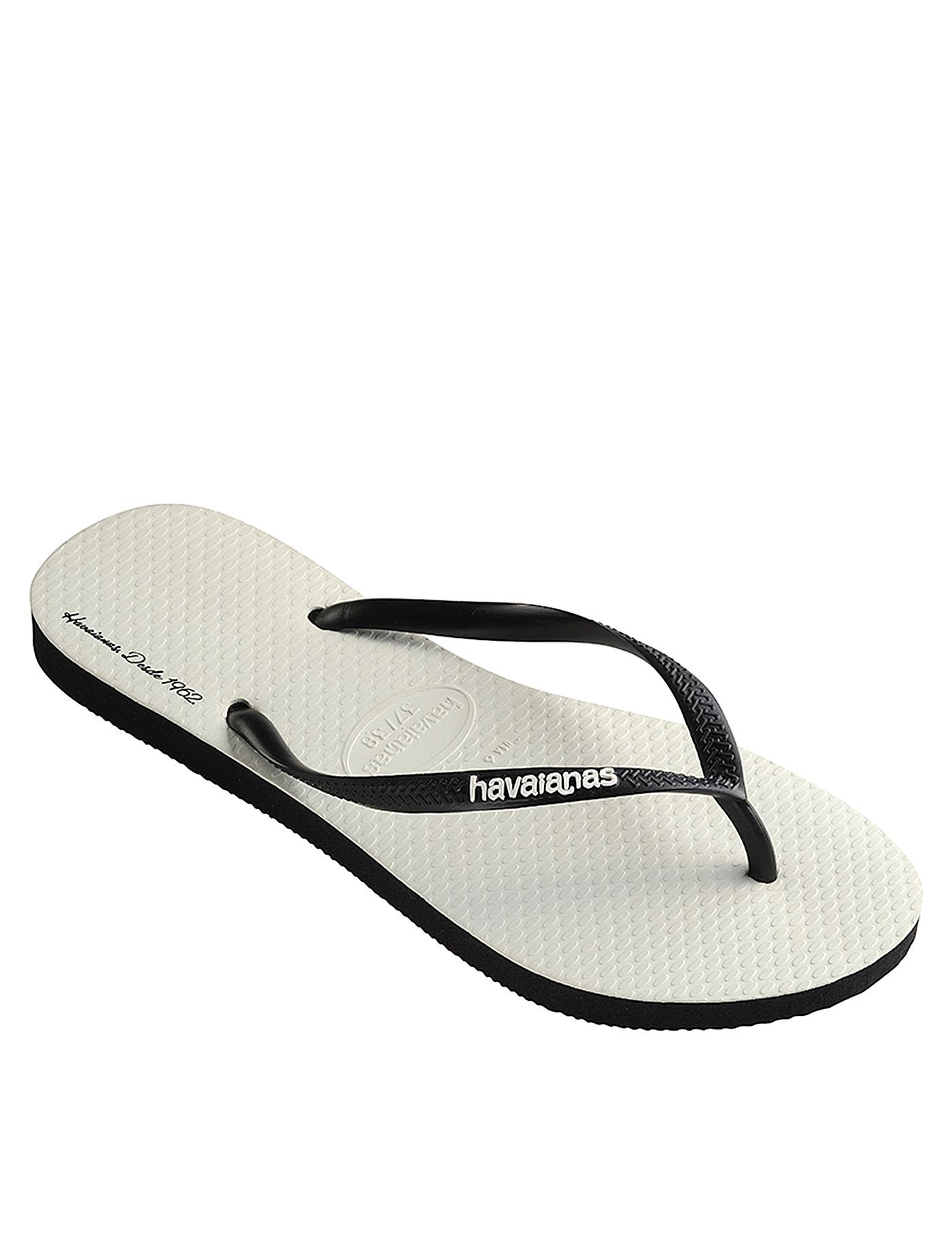 09c914c7d48e9c Flip Flops White Size 35