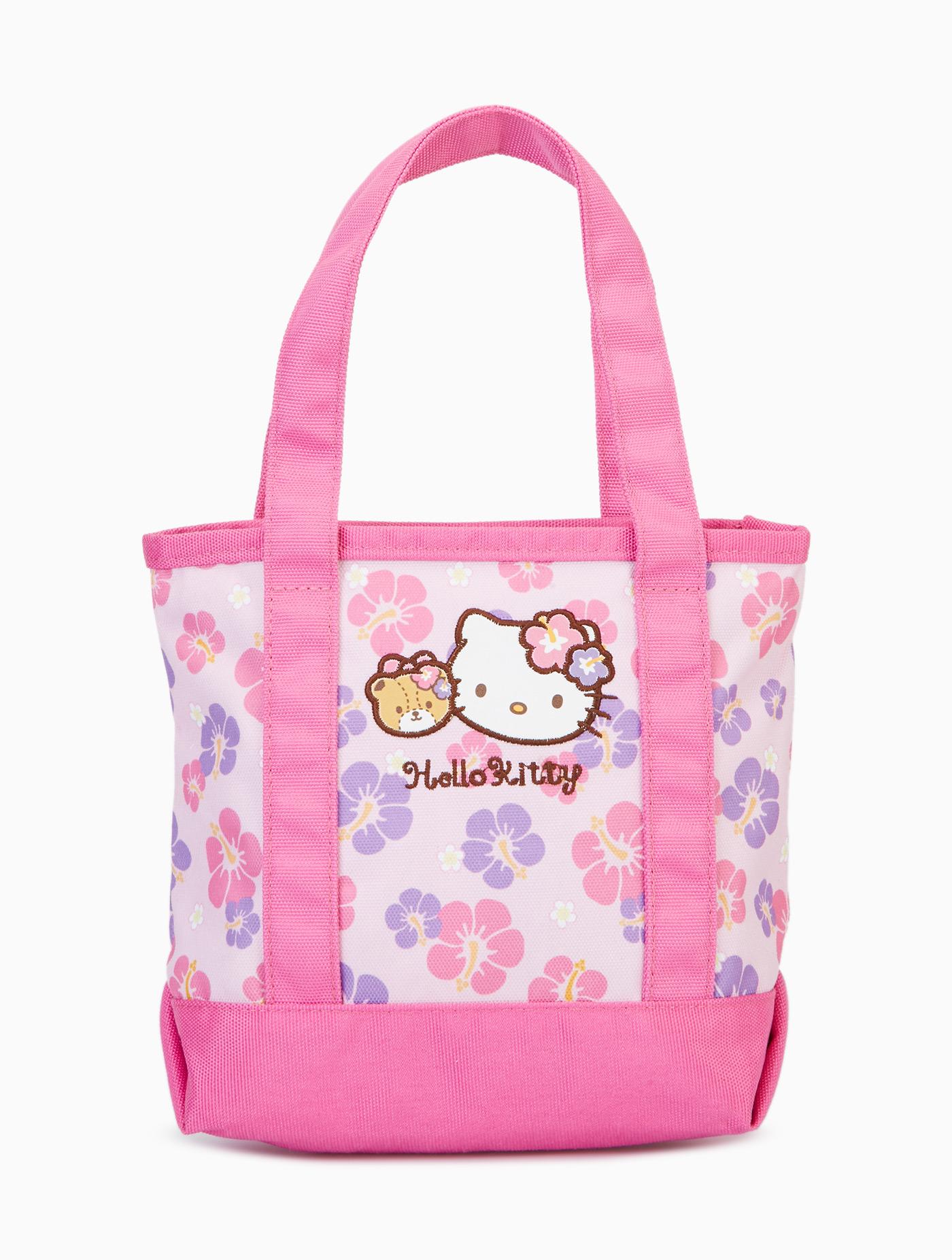 39b59dbd85 Hello Kitty Hibicus Mini Tote Bag Hello Kitty Multi-co