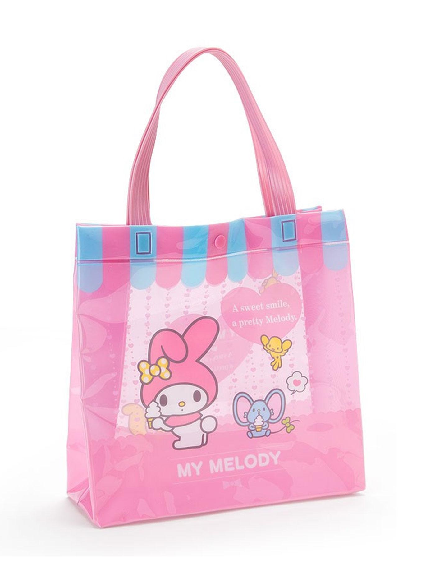 9434ab3ca1 My Melody Summer Vinyl Mini Tote Bag My Melody Pink