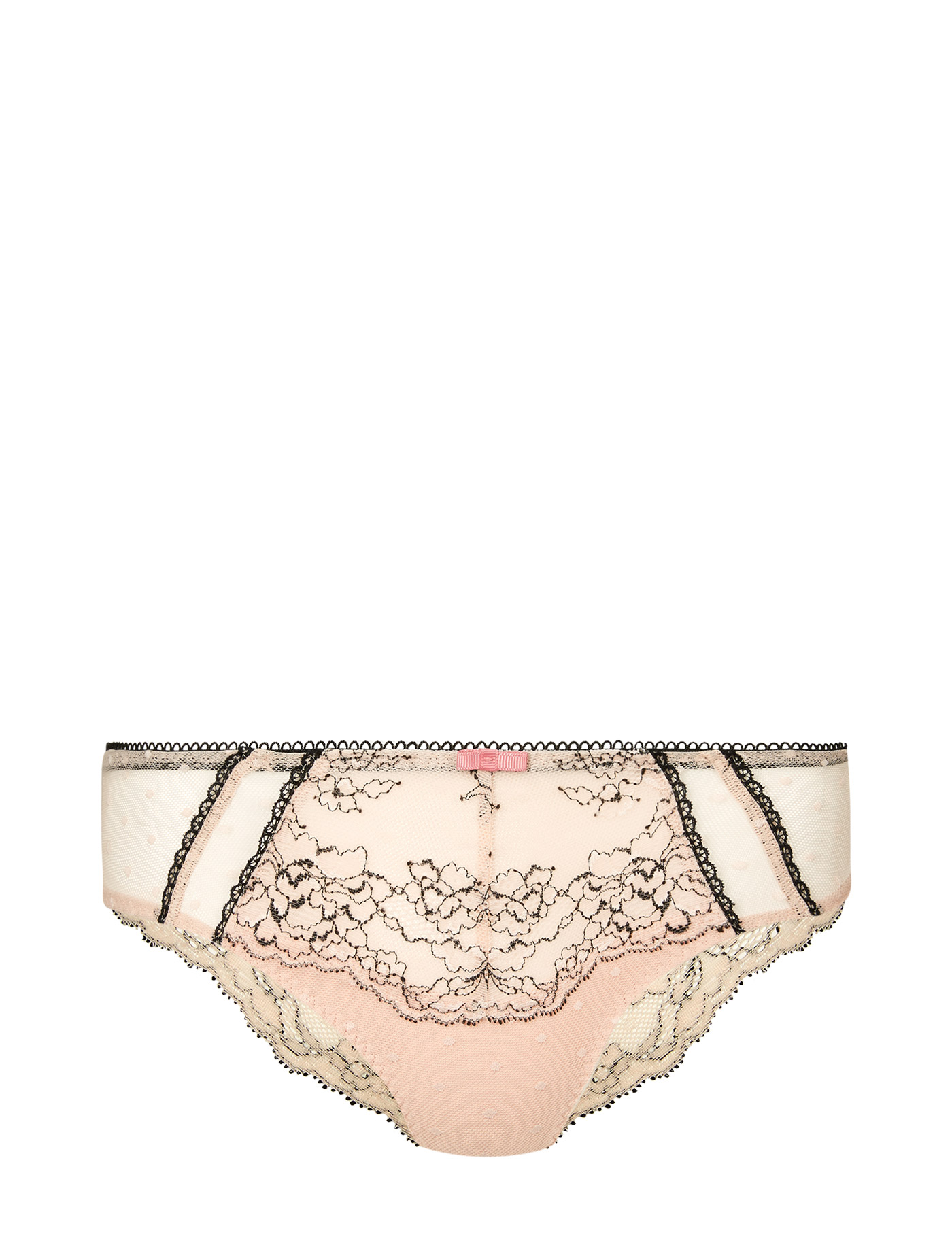 MARKS   SPENCER Lace Brazilian Knickers T818103A Size 8 Pink Mix f122dfcc8