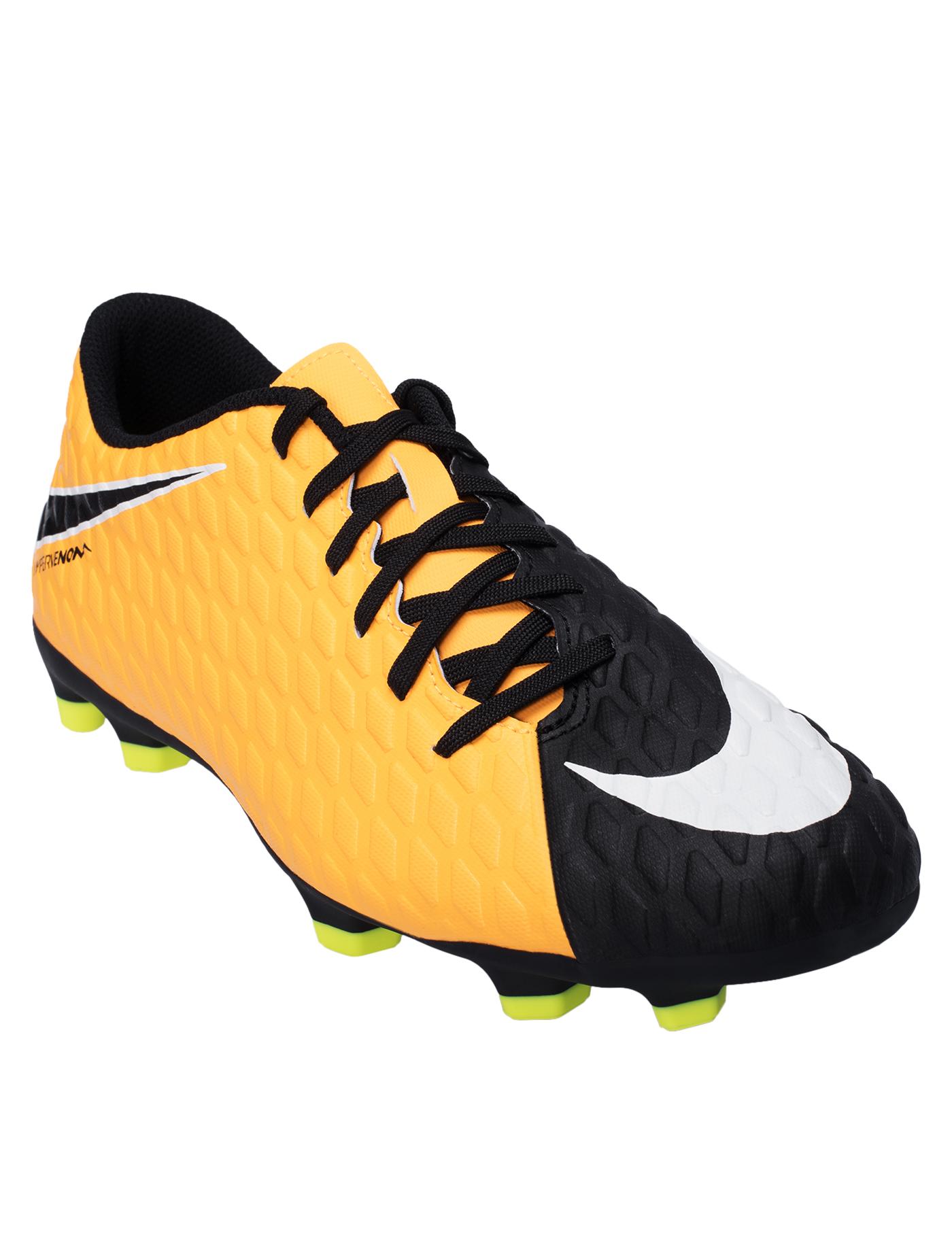0ac41a7b0 NIKE Men's Football Shoes Hypervenom Phade III FG 852547-801 Size US7 Orange
