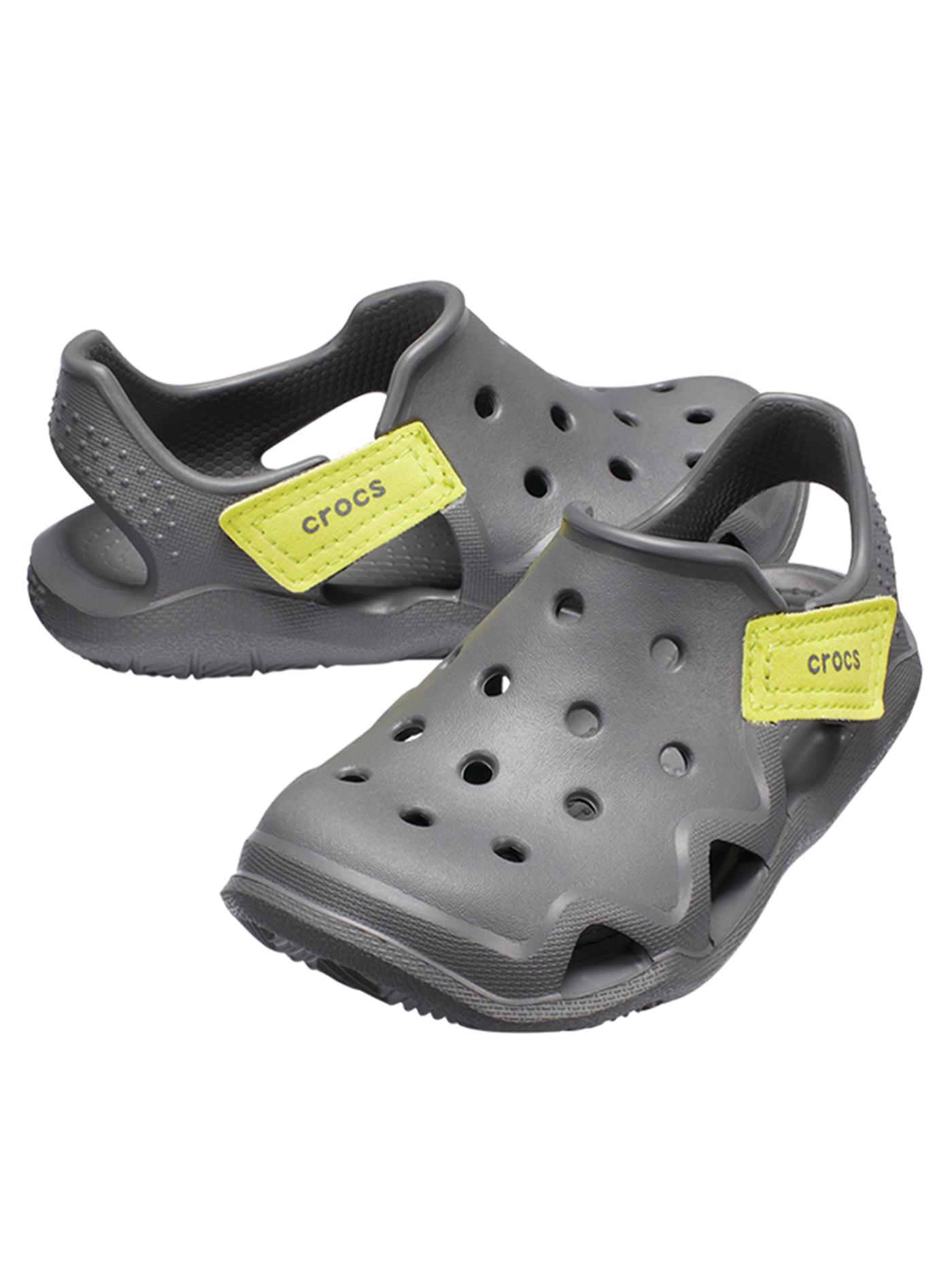 Kup online kupuję teraz taniej CROCS Kids Casual Shoes Swiftwater Wave Size C7 Grey-G ...
