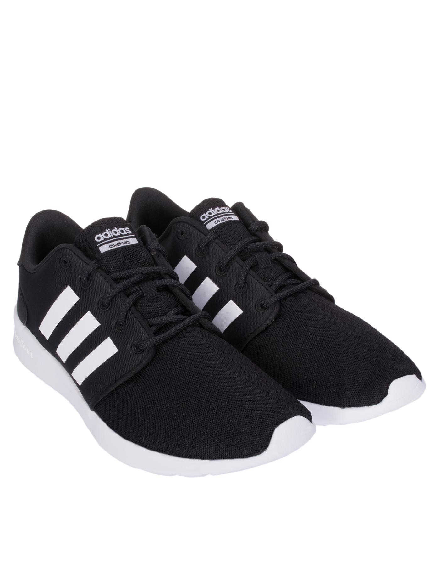 cc66b7493c3d ADIDAS NEO Women s Casual Shoes Cloudfoam QT Racer DB0275 Size UK8 Black